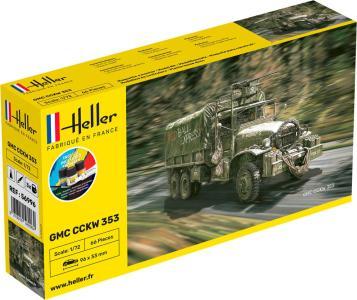GMC CCKW 352 - Starter Kit · HE 56996 ·  Heller · 1:72