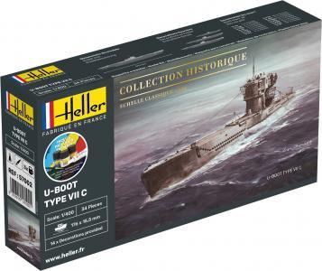 U-Boot Type VII C - Starter Kit · HE 57002 ·  Heller · 1:400