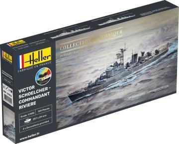 Victor Schoelcher - Commandant Riviere - Starter Kit · HE 57015 ·  Heller · 1:400