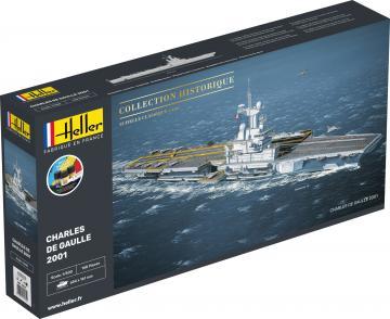 Charles de Gaule - Starter Kit · HE 57072 ·  Heller · 1:400