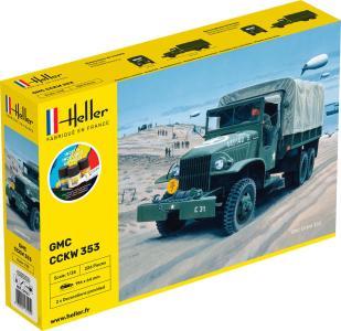 GMC US-Truck - Starter Kit · HE 57121 ·  Heller · 1:35