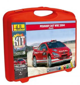 Peugeot 307 WRC 2004 (+ piste) · HE 60115 ·  Heller · 1:43