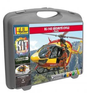 Eurocopter EC 145 Securite Civile(+piste · HE 60375 ·  Heller · 1:72