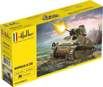 Panzer Somua · HE 79875 ·  Heller · 1:72