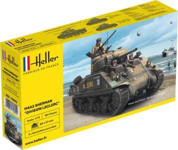 M4A2 Sherman Division Leclerc · HE 79894 ·  Heller · 1:72