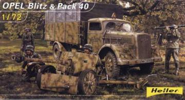 Opel Blitz & Pak 40 · HE 79994 ·  Heller · 1:72