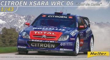Citroen Xsara WRC Loeb 2006 · HE 80116 ·  Heller · 1:43