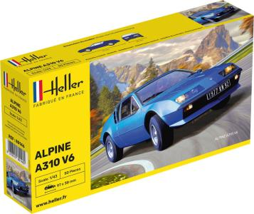 Alpine A310 · HE 80146 ·  Heller · 1:43
