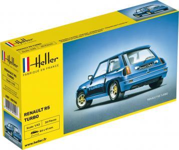 Renault R5 Turbo · HE 80150 ·  Heller · 1:43