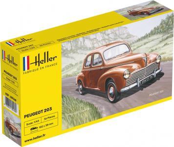 Peugeot 203 · HE 80160 ·  Heller · 1:43