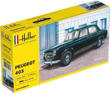Peugeot 403 · HE 80161 ·  Heller · 1:43