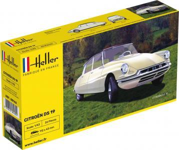 Citroën DS 19 · HE 80162 ·  Heller · 1:43