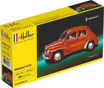 Renault 4 CV · HE 80174 ·  Heller · 1:43