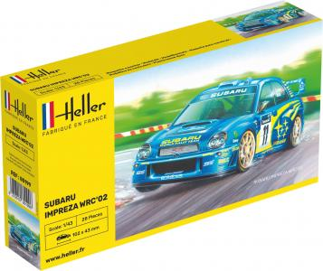 Subaru Impreza WRC´02 · HE 80199 ·  Heller · 1:43