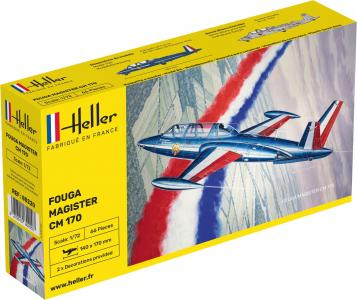 Fouga Magister CM 170 · HE 80220 ·  Heller · 1:72