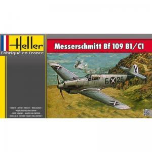 Messerschmitt BF 109/B1 C1 · HE 80236 ·  Heller · 1:72