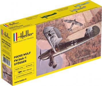 Focke Wulf Stösser · HE 80238 ·  Heller · 1:72
