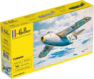 SAAB Tunnan · HE 80260 ·  Heller · 1:72