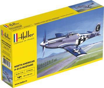 North American P-51 Mustang · HE 80268 ·  Heller · 1:72