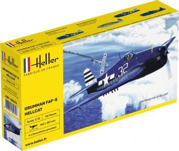 Grumman F6F Hellcat · HE 80272 ·  Heller · 1:72