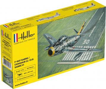 N.A. F-86F Sabre / Canadair CL-13 B Sabre VI · HE 80277 ·  Heller · 1:72