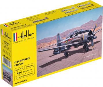 NORTH AMERICAN T-28 FENNEC /TROJAN · HE 80279 ·  Heller · 1:72