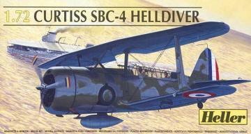 Curtiss Helldiver · HE 80285 ·  Heller · 1:72