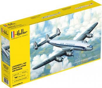 L-749 Constellation Air France · HE 80310 ·  Heller · 1:72