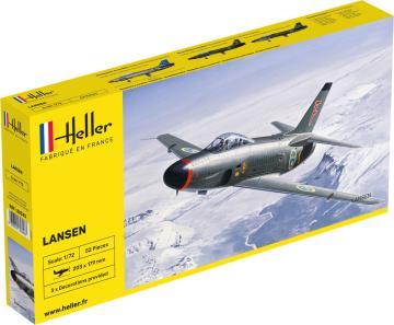 Saab Lansen · HE 80343 ·  Heller · 1:72