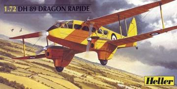 De Havilland 89 Dragon Rapide · HE 80345 ·  Heller · 1:72