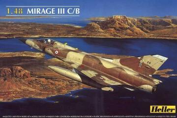 Dassault Mirage III C/B · HE 80411 ·  Heller · 1:48