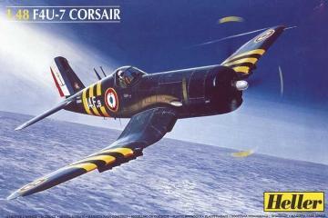 Vought F4U-7 Corsair · HE 80415 ·  Heller · 1:48