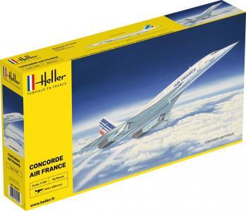 Concorde Air France · HE 80445 ·  Heller · 1:125