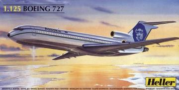 Boeing 727 Alaska · HE 80447 ·  Heller · 1:125