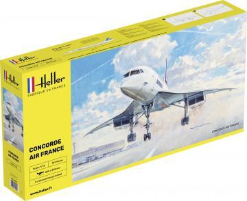 Concorde Air France · HE 80469 ·  Heller · 1:72
