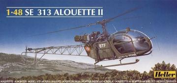 Aerospatiale SE 313 Alouette II · HE 80479 ·  Heller · 1:48