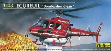 Hubschrauber der Feuerwehr · HE 80485 ·  Heller · 1:48
