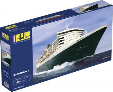 Queen Mary 2 · HE 80626 ·  Heller · 1:600