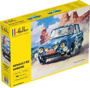 Renault R8 Gordini · HE 80700 ·  Heller · 1:24