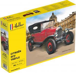 Citroen Trefle · HE 80702 ·  Heller · 1:24