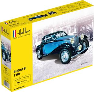 Bugatti T 50 · HE 80706 ·  Heller · 1:24