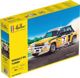 Renault R5 Turbo · HE 80717 ·  Heller · 1:24