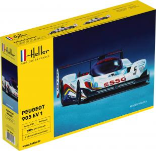 Peugeot 905 EV 1 · HE 80718 ·  Heller · 1:24