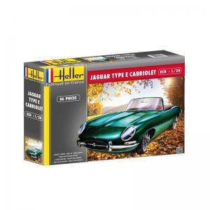 Jaguar Type E 3L8 OTS Cabriolet · HE 80719 ·  Heller · 1:24