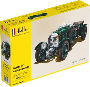 Bentley Blower · HE 80722 ·  Heller · 1:24
