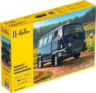 Renault Estafette Vitree · HE 80742 ·  Heller · 1:24