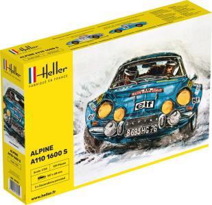Alpine A110 (1600), Classic · HE 80745 ·  Heller · 1:24