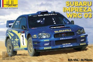 Subaru Impreza WRC ´03 · HE 80750 ·  Heller · 1:24