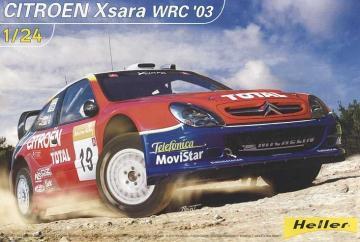 Citroen Xsara WRC ´03 · HE 80751 ·  Heller · 1:24
