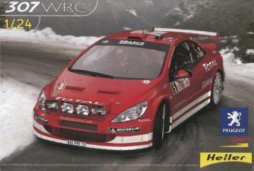 Peugeot 307 WRC ´04 · HE 80753 ·  Heller · 1:24